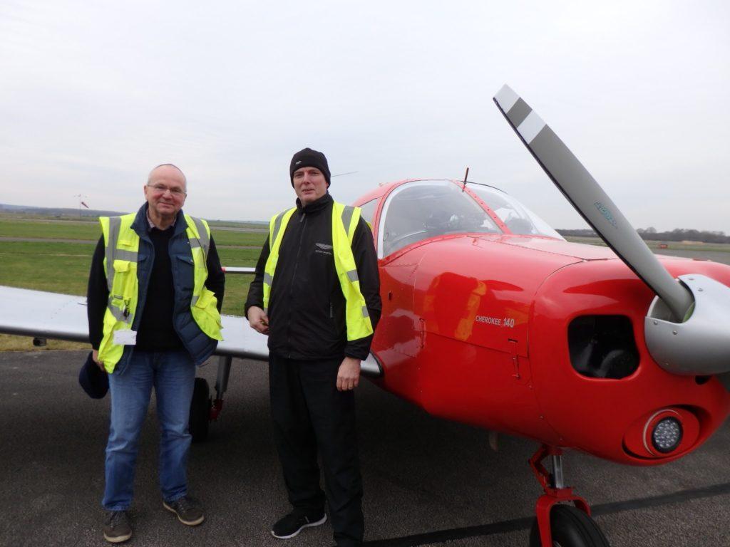 G-LTFB at Gamston Retford Airfield