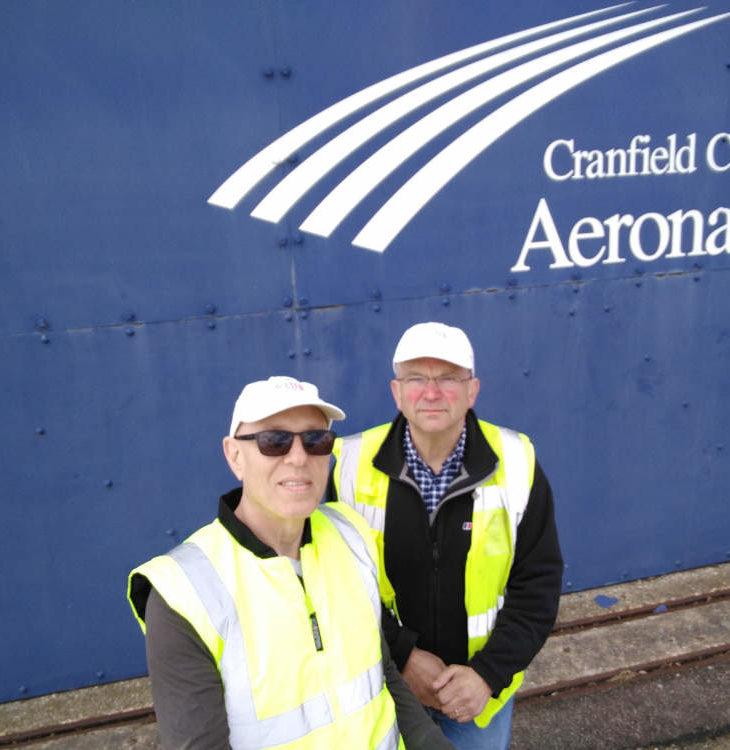 Cranfield airport hangar