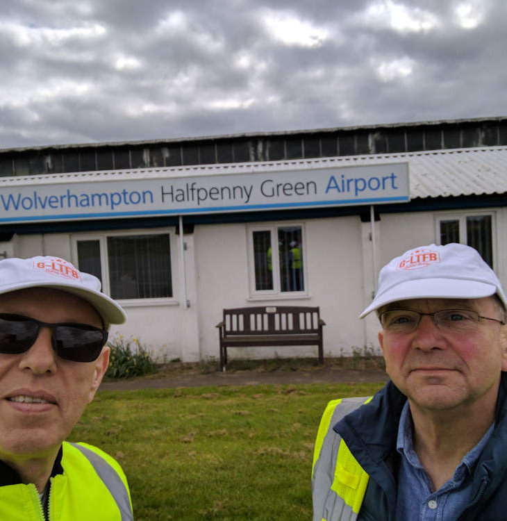Wolverhampton Halfpenny Green airfield