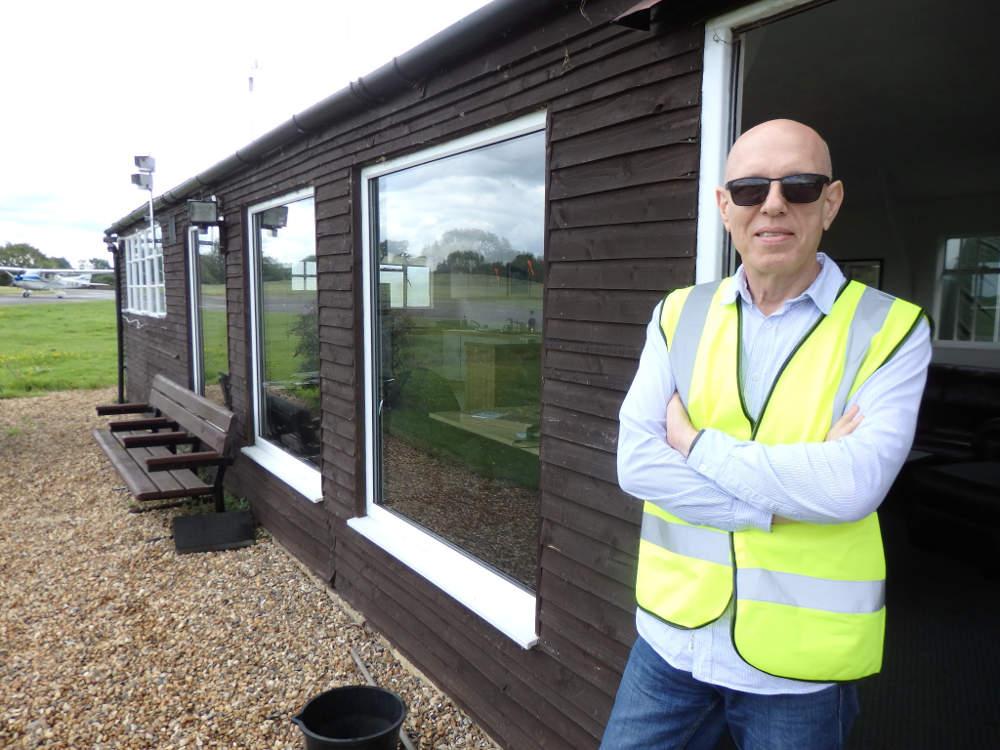 Ian Fereday at London Transport Flying Club