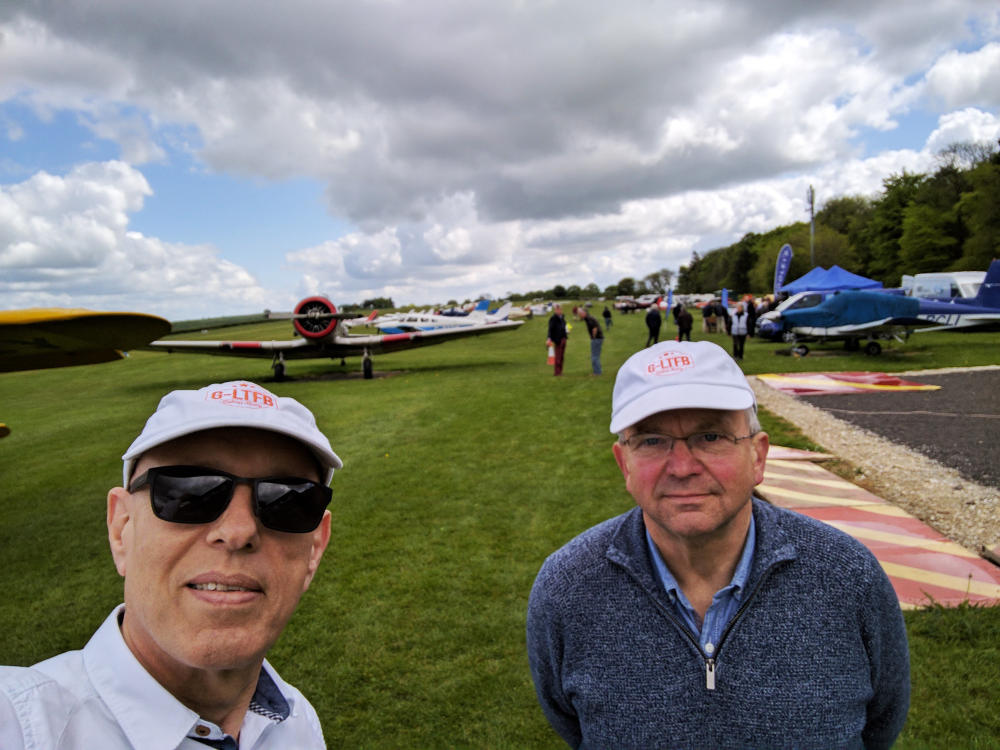 Pooleys fly-in at Compton Abbas 2017