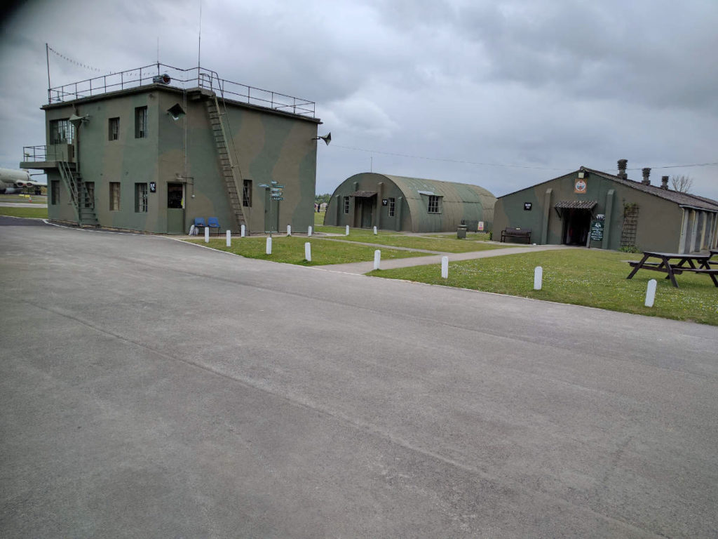 Yorkshire Air Museum control tower