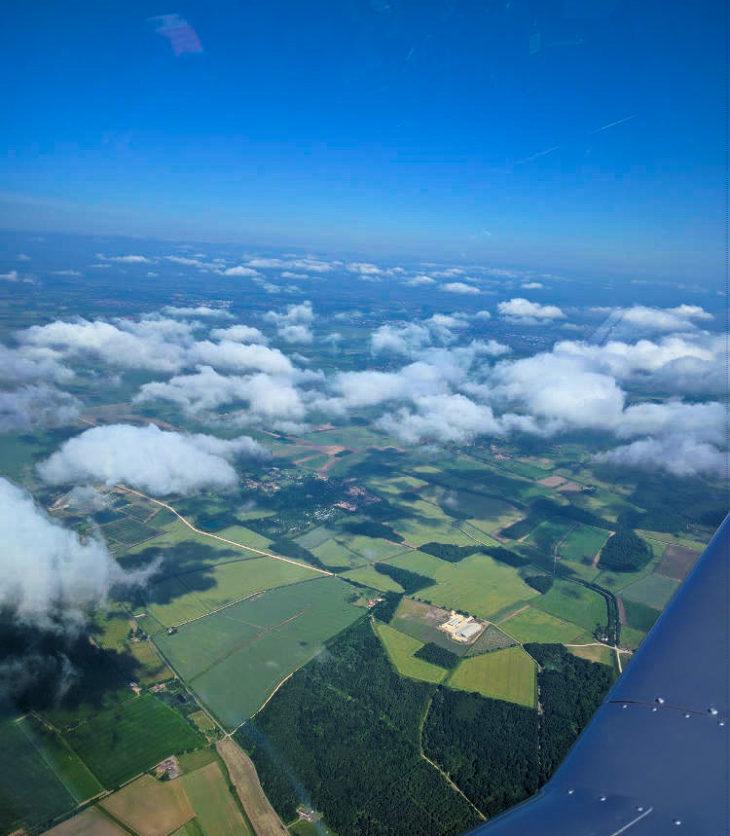 G-LTFB at 5000 feet