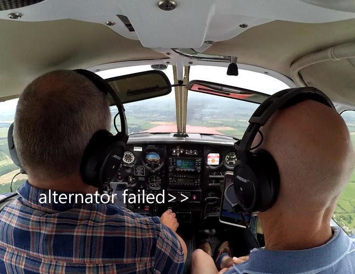 PA28 alternator failed