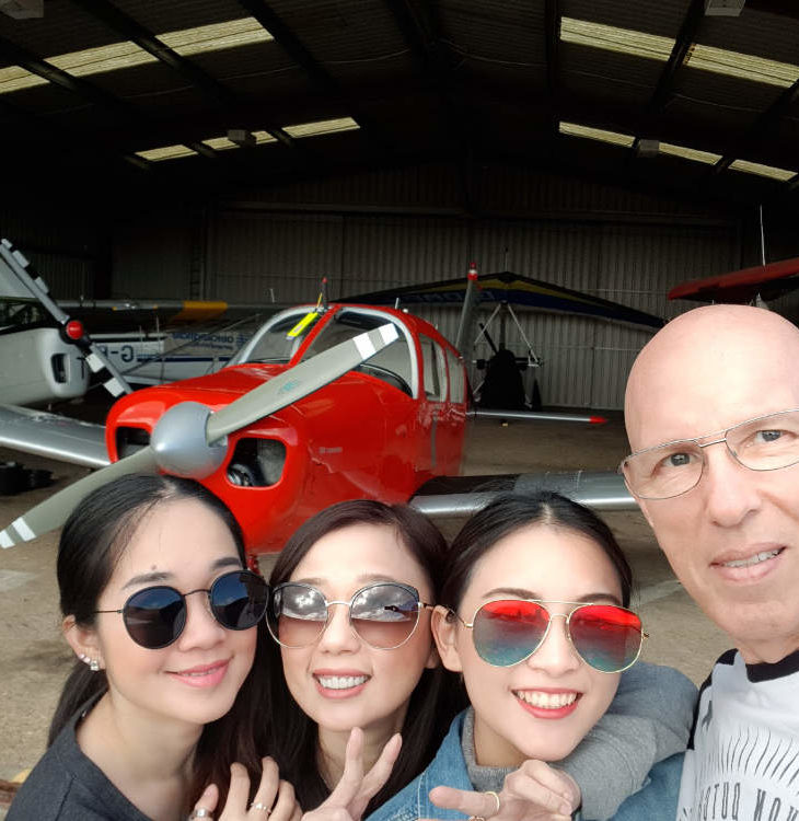 Family flight in G-LTFB