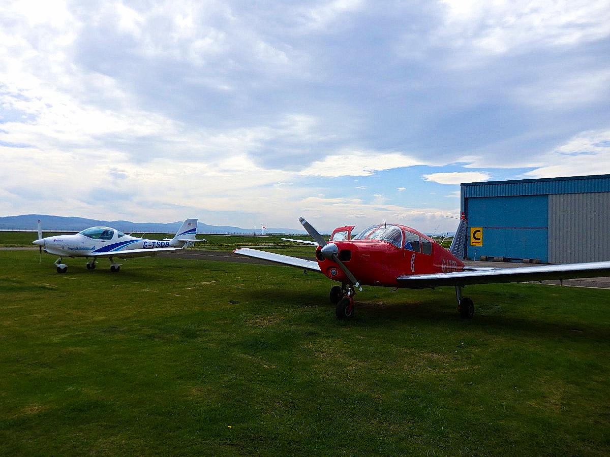 G-LTFB at Dundee Airport
