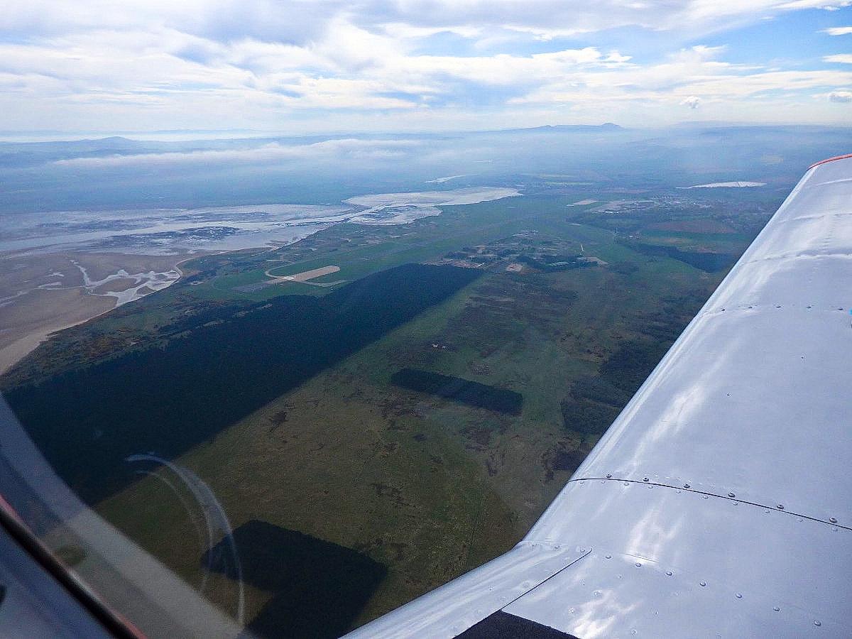 overhead RAF Leuchars